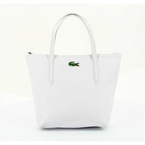 6c08b1bff0 Maroquinerie Lacoste NF0276PO-An... Blanc - Achat / Vente ...