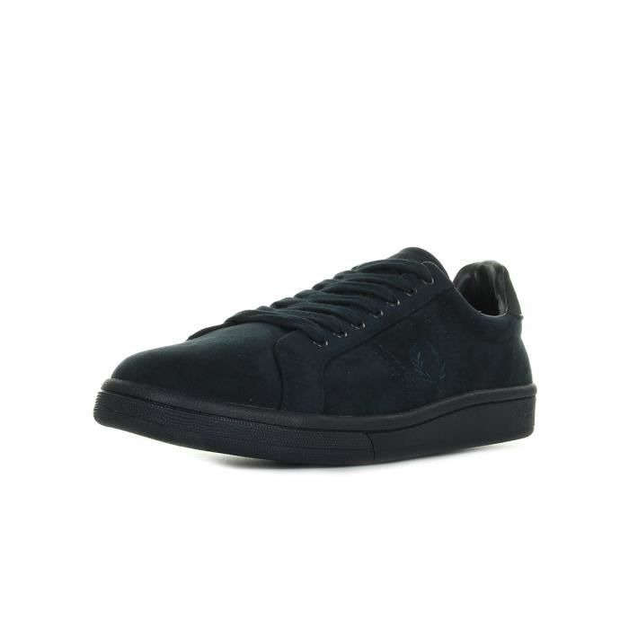 Baskets Fred Perry B721 Brushed Cotton Navy