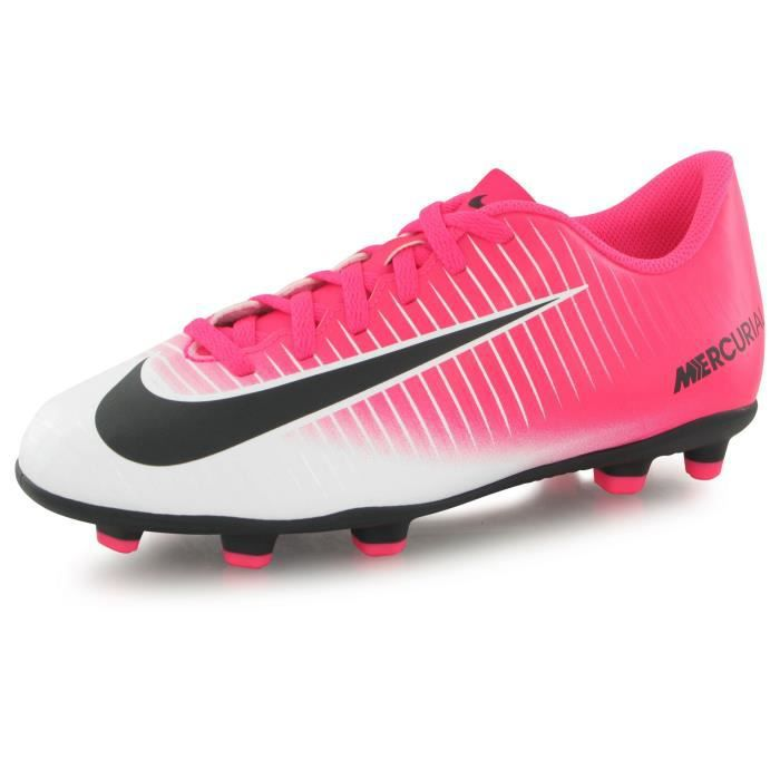 uk availability e10ee c58ae CHAUSSURES DE FOOTBALL Nike Mercurial Vortex Iii Fg Racer rose, chaussure