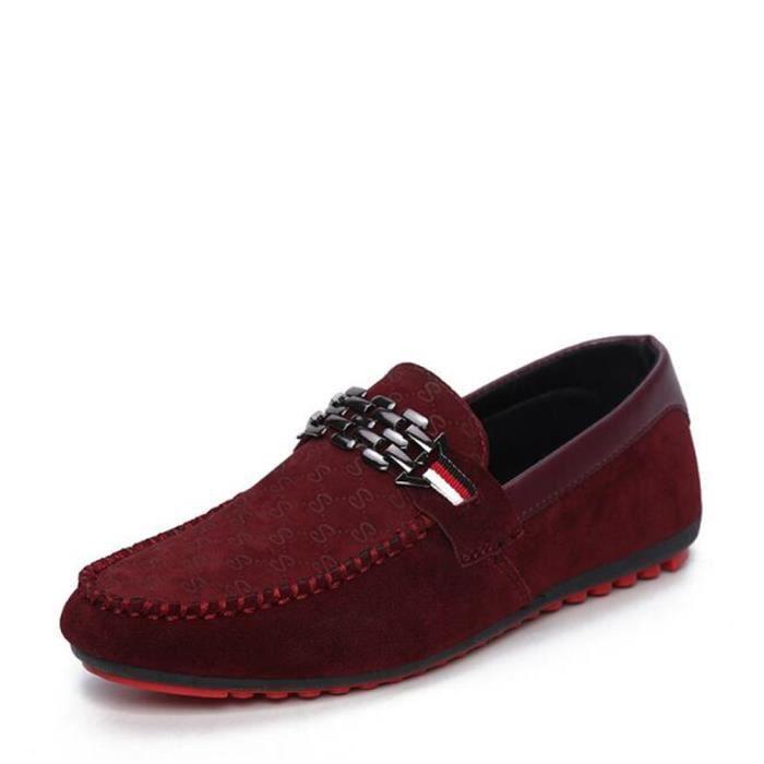 Nouvelle Marque Mode D'été Printemps Hommes Conduite Chaussures Mocassins En Cuir Véritable Bateau Respirant Mâle Casual Appartement cJ0J4QivqI
