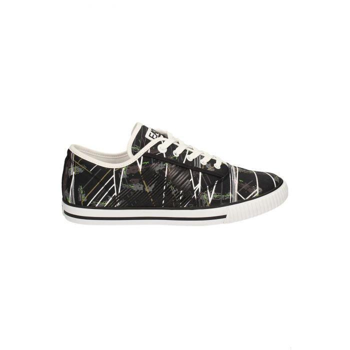 Sneakers 278087 Printées Emporio Homme Armani Noir TT704
