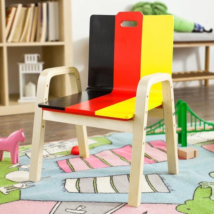 fauteuil enfant bois achat vente fauteuil enfant bois pas cher cdiscount. Black Bedroom Furniture Sets. Home Design Ideas