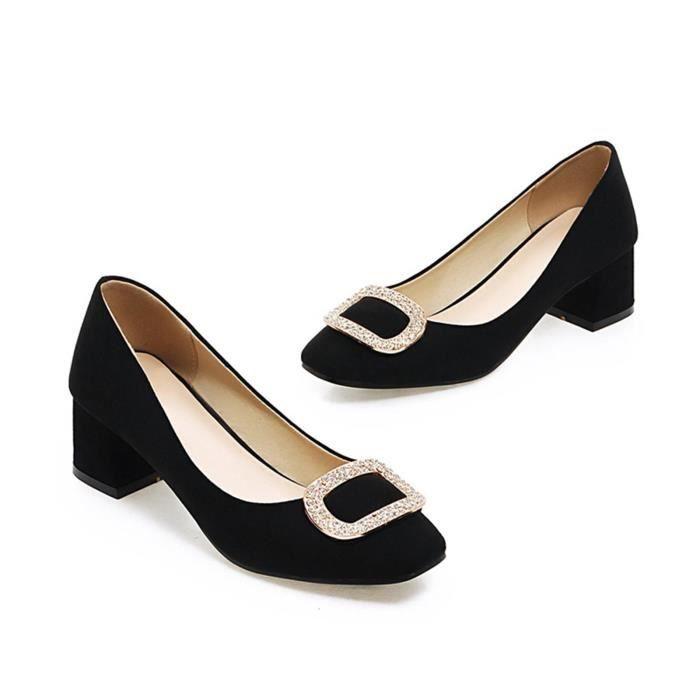 Chaussure Femmes Solide Avec Une Décoration élégante Causale Club Mariage Soiree