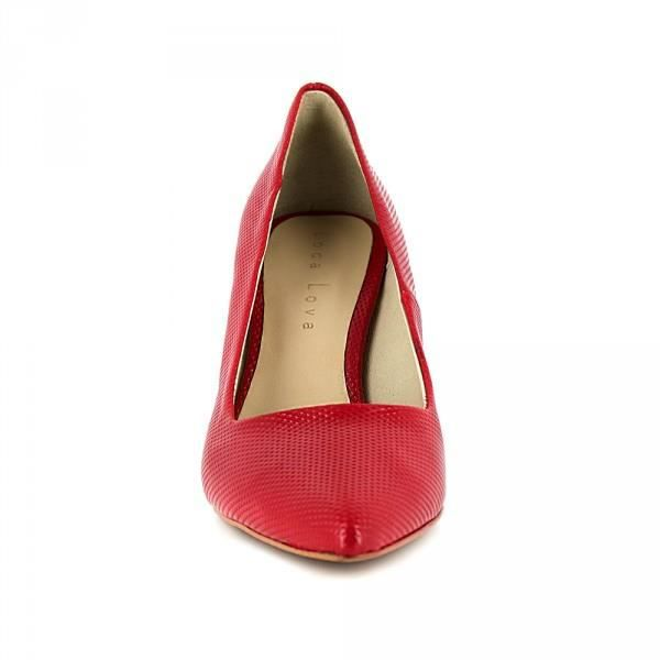 chaussure Rouge JB Escarpin Couleur MAMEN Rouge J Bradford qgPBE