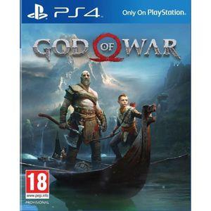 JEU PS4 God of War Jeu PS4
