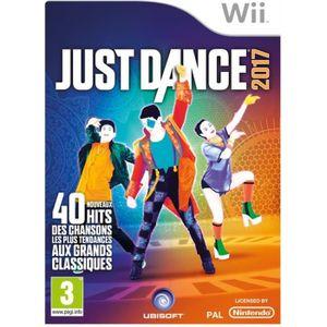 JEU WII Just Dance 2017 Jeu Wii