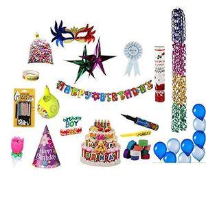 BALLON DÉCORATIF  Kit Spécial Décoration d'anniversaire pour garçon