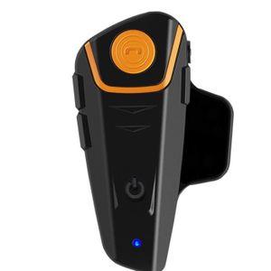 PHARES - OPTIQUES ouniondo® Bluetooth 1000m BT Casque de moto A2DP P
