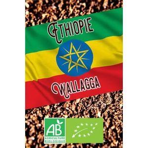 CAFÉ - CHICORÉE Café moulu Bio pour cafetière filtre - 250g Éthiop
