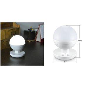 LAMPE DE JARDIN  Lampe de chevet Portables LED tactile à intensité