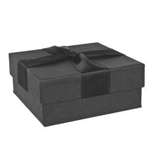 ECRIN - ETUI A BIJOUX Jouailla - Ecrin vide poche carton - Noir
