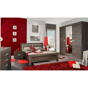 Chambre complète gris - Achat / Vente Chambre complète gris pas ...