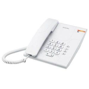Téléphone fixe Téléphone fixe filaire couleur Blanc