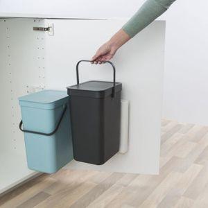 Poubelle poubelle encastrable achat vente poubelle poubelle encastrable pas cher soldes - Poubelle de placard ...