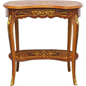TABLE D'APPOINT Casa Padrino Table d'appoint baroque avec tiroirs
