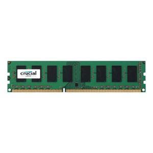 MÉMOIRE RAM CRUCIAL - Mémoire PC - UDIMM 4Go DDR3L-1600