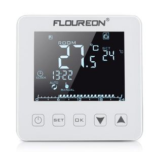 thermostat d ambiance filaire achat vente thermostat d ambiance filaire pas cher cdiscount. Black Bedroom Furniture Sets. Home Design Ideas
