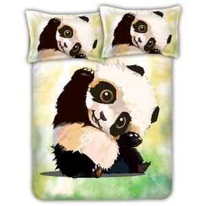 Housse De Couette Panda : parure lit panda achat vente pas cher ~ Teatrodelosmanantiales.com Idées de Décoration