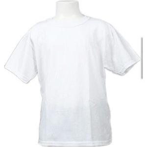 35f6e76418b739 T-SHIRT Tee shirt manches courtes Heavy kids blanc mc