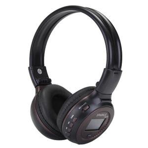 CASQUE - ÉCOUTEURS ZEALOT Bluetooth FM Casque Sans Fil Rechargeable H ef8acff76b9f
