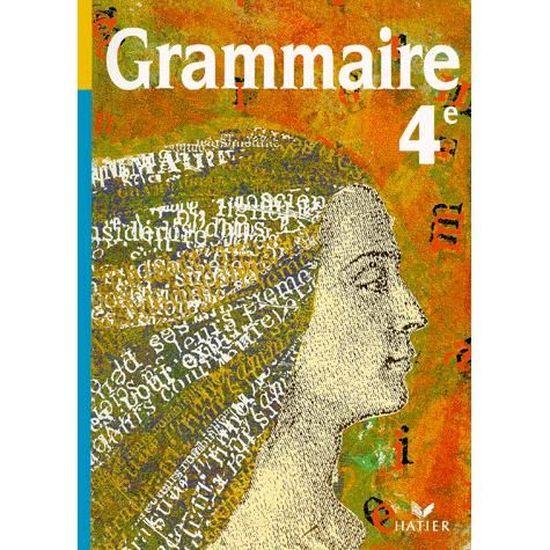 Grammaire 4eme Manuel