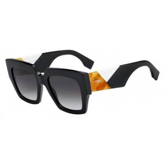 f904b1d797d361 Fendi FF 0263 S-807 (90) - Achat   Vente lunettes de soleil Mixte ...