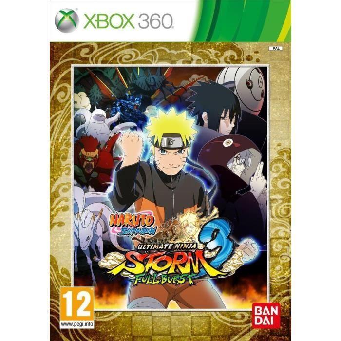 JEUX XBOX 360 Naruto Ultimate Ninja Storm 3 Full Burst/ XBOX 360