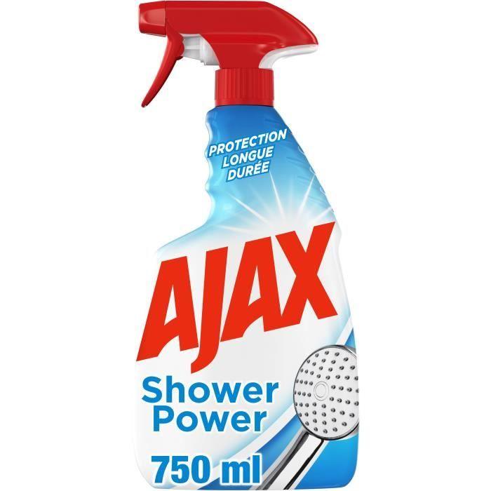 AJAX Nettoyant sanitaire anti-calcaire Shower Power - 750ml