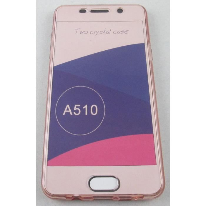 coque samsung galaxy a5 2016 or rose