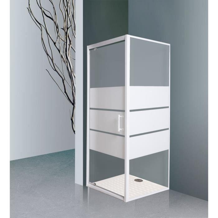 creazur paroi de douche acc s d 39 angle pivotante paroi de. Black Bedroom Furniture Sets. Home Design Ideas