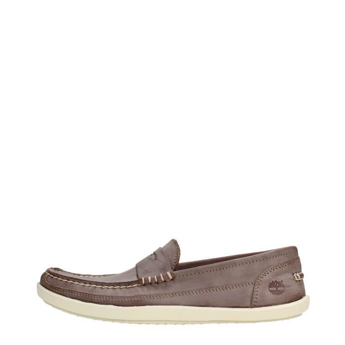 mules homme cuir timberland