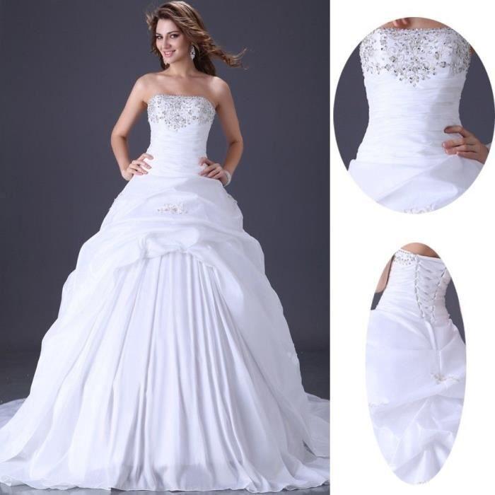 robe de mariee taille 48 achat vente pas cher