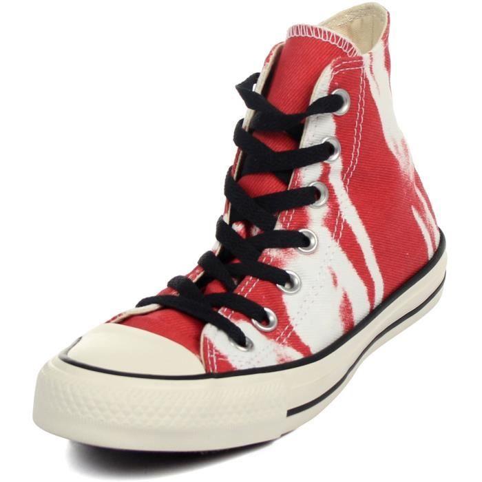 Converse Pour les hommes: All Star Salut Bleach Sneaker Rouge QL9RH 41
