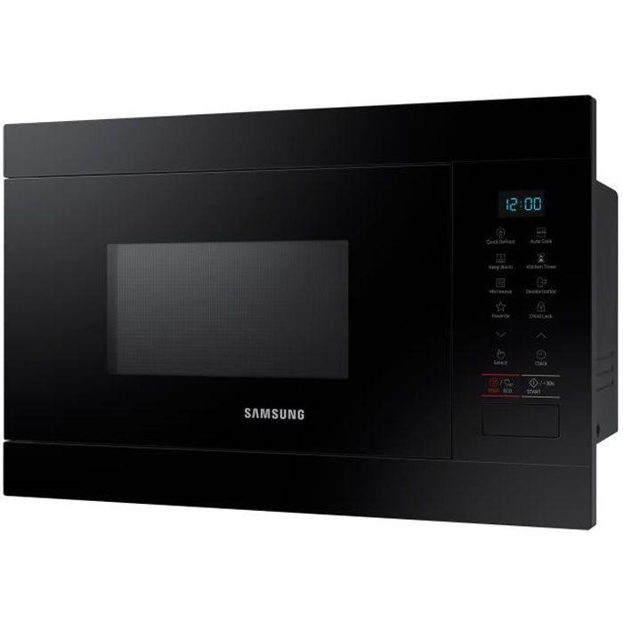 Samsung Ms22m8054ak Four Micro Ondes Monofonction Intégrable 22 Litres 850 Watt Noir