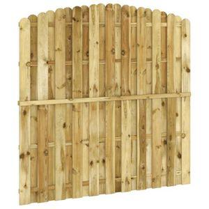 cloture panneaux bois achat vente cloture panneaux bois pas cher soldes d s le 10 janvier. Black Bedroom Furniture Sets. Home Design Ideas