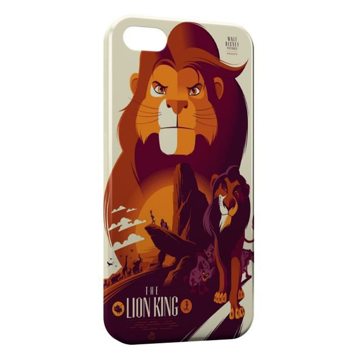 coque iphone x roi lion