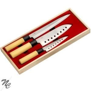 COUTEAU DE CUISINE  Set de 3 couteaux de cuisine '' Kiru''