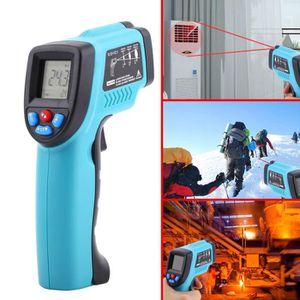 MESURE THERMIQUE Thermomètre infrarouge sans contact avec thermomèt