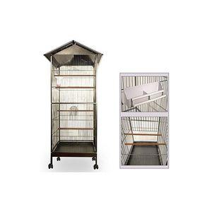 Volière cage à oiseaux metal canaries perroquet perruches hauteur 157cm b138f59b46dc