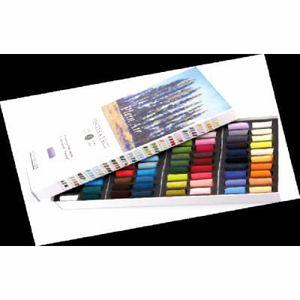 PASTELS - CRAIE D'ART Coffret de 80 demi-pastels à l'Ecu plein air