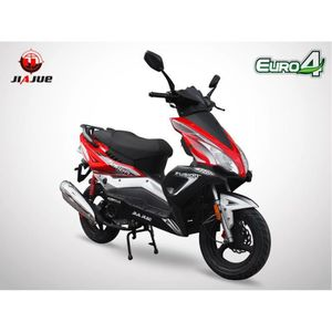 SCOOTER Scooter 50cc 4T - FUSION 50 - JIAJUE - Rouge
