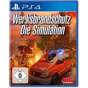 JEU PS4 Werksbrandschutz Die Simulation PlayStation 4 alle
