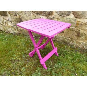 Chaise pliante resine - Achat / Vente pas cher