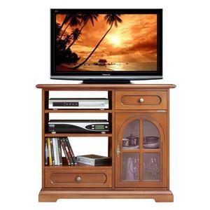 meuble tv meuble tv porte vitre - Meuble Tv Bas Vitre