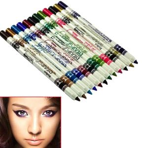 EYE-LINER - CRAYON 12 couleurs de maquillage Glitter Eyeliner Sourcil