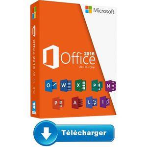BUREAUTIQUE À TÉLÉCHARGER Microsoft Office 2016 Pro Plus pour PC a télécharg