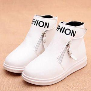 Martin Boots Enfants Hiver Garçons Fille Casual Chaussures BDG-XZ101Noir31 zAAeimA2Ut