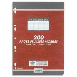 FEUILLET MOBILE Lot de 5 Feuillets mobiles, Format 21 x 29,7 cm, 2