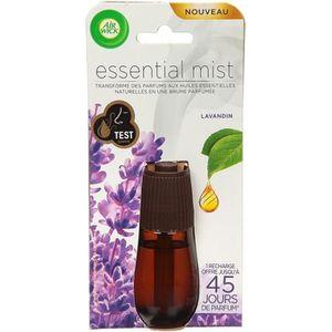 DÉSODORISANT INTÉRIEUR AIR WICK Essential Mist Recharger lavande - 20 mL