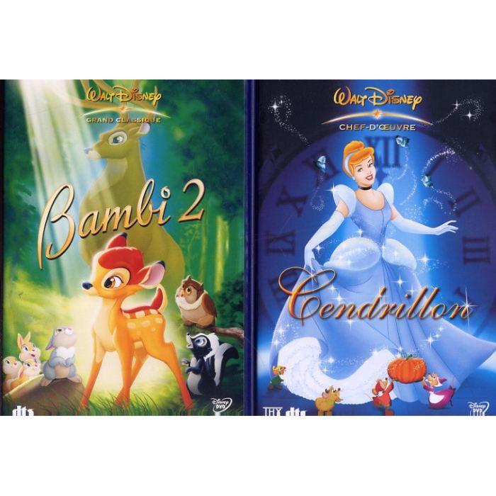 Bambi 2 cendrillon 2 dvd en dvd dessin anim pas cher - Dessin anime cendrillon 2 ...